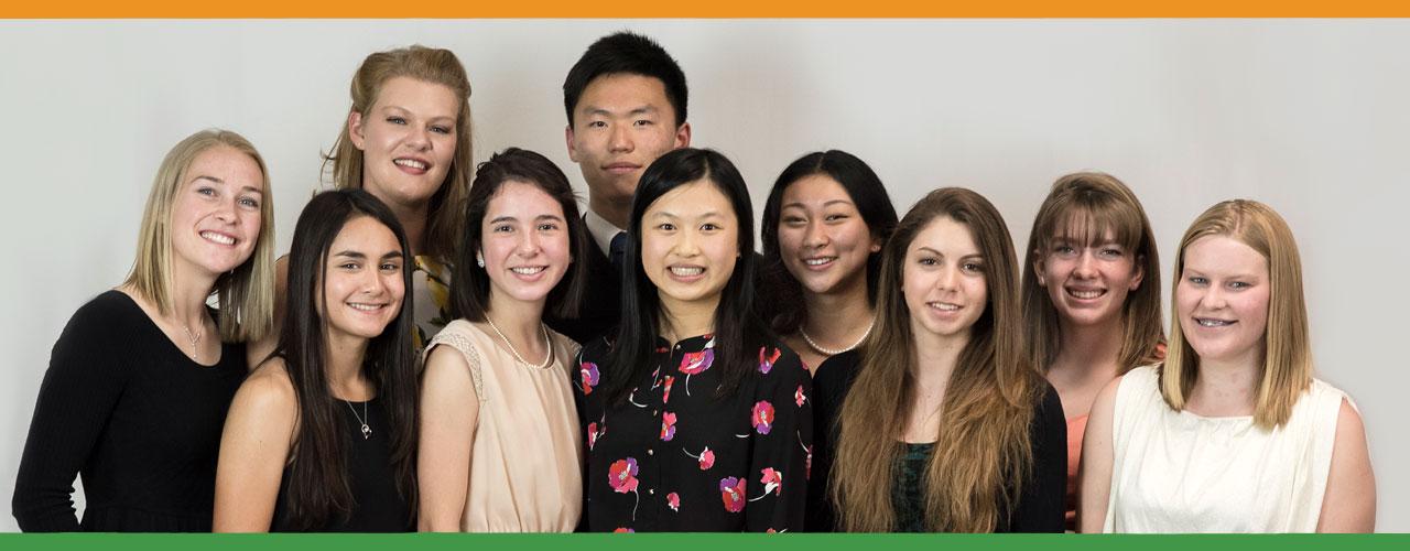 LAPS Foundation scholarship winners
