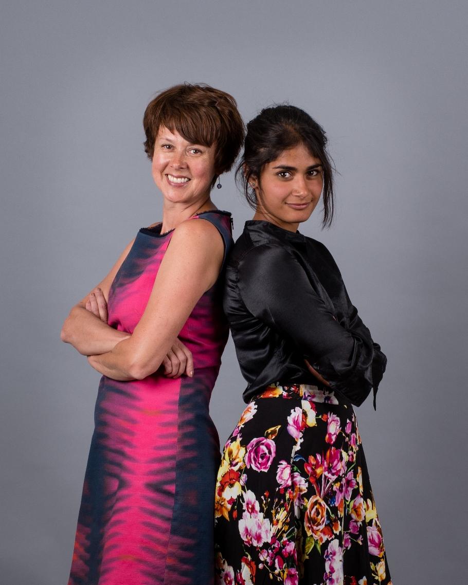 Radhika Iyer and Lana Martin