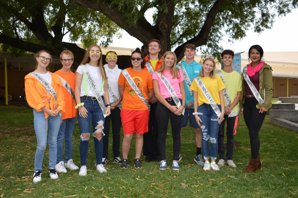 2019 LAHS Homecoming Court