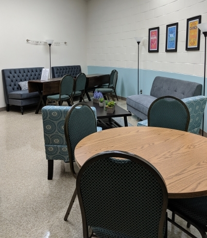 Surprise! The LAPS Foundation Refreshed the Staff Lounges Over the Summer